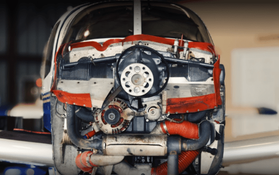 Aircraft repair and component replacement